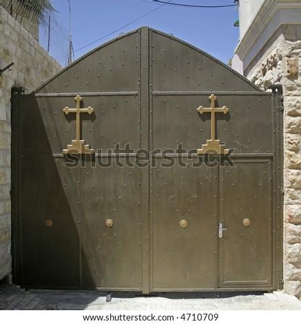 bethlehem, west bank, palestine, israel - stock photo