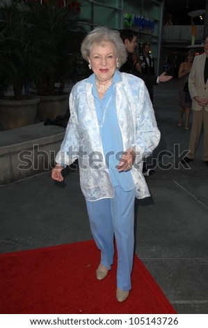 Betty White  at the Los Angeles Premiere of 'Love and Dancing'. Arclight Hollywood, Hollywood, CA. 05-06-09