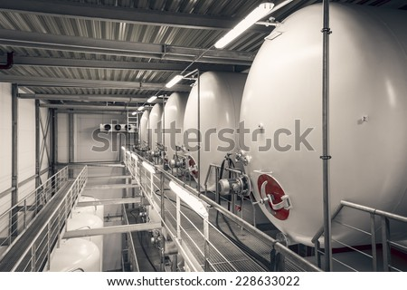 beverage containers - stock photo