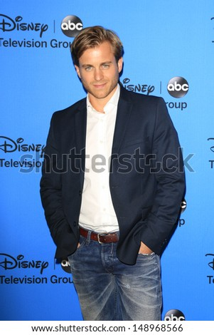 BEVERLY HILLS - AUG 4: Kevin Bishop at the 2013 Television Critics Association's Summer Press Tour - Disney/ABC Party at The Beverly Hilton Hotel on August 4, 2013 in Beverly Hills, California