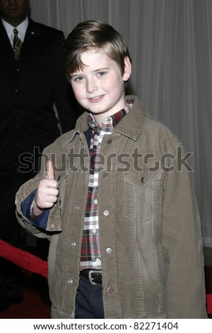 BEVERLY HILLS, CA - DEC 1: Nick Benson at the 6th annual Family Television Awards at the Beverly Hilton Hotel on December 1, 2004 in Los Angeles, California