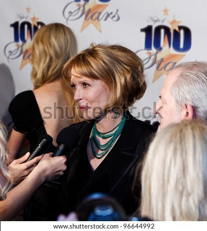 BEVERLY HILLS, CA - FEBRUARY 26: Actress Susan Blakely arrives for Norby Walters' 22nd Annual Night Of 100 Stars event held at The Beverly Hills Hotel on February 26, 2012 in Beverly Hills, CA. - stock photo