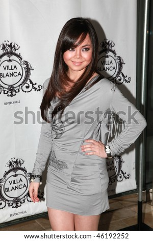 BEVERLY HILLS, CA - JAN 14: Anna Maria Perez de Tagle attends the preview of Christine's Kings fashion  on January 14, 2010 in Beverly Hills, California. - stock photo