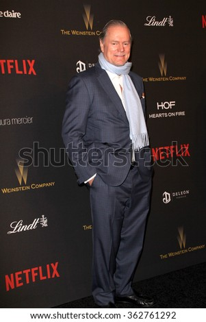 BEVERLY HILLS, CA - JAN. 10: Rick Hilton arrives at the Weinstein Company and Netflix 2016 Golden Globes After Party on Sunday, January 10, 2016 at the Beverly Hilton Hotel in Beverly Hills, CA.  - stock photo