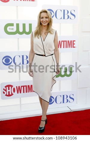 BEVERLY HILLS, CA - JULY 29: Lisa Kudrow arrives to the Beverly Hilton Hotel for the TCA Awards on July 29, 2012 in Beverly Hills, CA. - stock photo