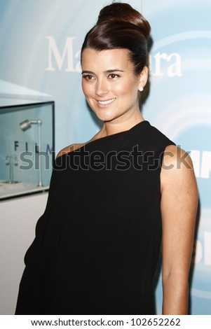 BEVERLY HILLS, CA - JUNE 16: Cote de Pablo at the 2011 Women In Film Crystal + Lucy Awards at the Beverly Hilton Hotel in Beverly Hills, California on June 16, 2011.