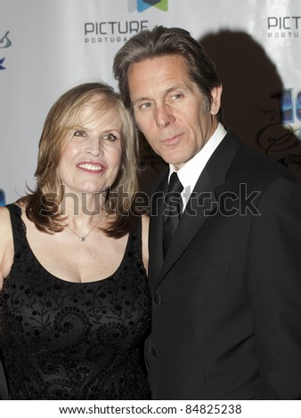 BEVERLY HILLS, CA - MARCH 7: Gary Cole (R) and Teddi Cole (L) attend the 20th Annual Night of 100 Stars Awards Gala on March 7, 2010 in Beverly Hills, CA.