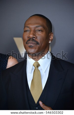 BEVERLY HILLS, CA. November 6, 2016: Actor Eddie Murphy at the 2016 Hollywood Film Awards at the Beverly Hilton Hotel.