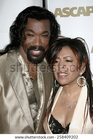 BEVERLY HILLS, CALIFORNIA. May 16, 2005. Ashford & Simpson attend at the 22nd Annual ASCAP Pop Music Awards at the Beverly Hilton Hotel in Beverly Hills, California. - stock photo