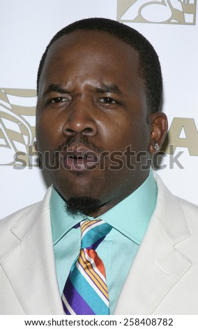 BEVERLY HILLS, CALIFORNIA. May 16, 2005. Big Boi attends at the 22nd Annual ASCAP Pop Music Awards at the Beverly Hilton Hotel in Beverly Hills, California. - stock photo