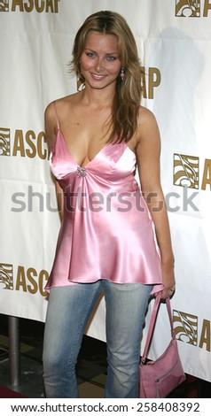 BEVERLY HILLS, CALIFORNIA. May 16, 2005. Marketa Janska attends at the 22nd Annual ASCAP Pop Music Awards at the Beverly Hilton Hotel in Beverly Hills, California. - stock photo