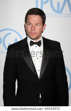 BEVERLY HILLS - JAN 22:  Mark Wahlberg arrives at the 22nd Annual Producers Guild Awards at Beverly Hilton Hotel on January 22, 2011 in Beverly Hills, CA - stock photo