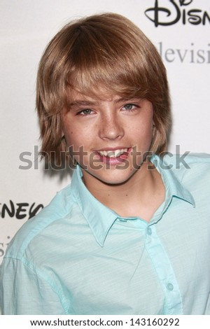 BEVERLY HILLS - JUL 12: Cole Sprouse at the Disney ABC Television Group Summer All Star party on July 12, 2008 in Beverly Hills, California. - stock photo