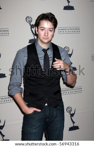 BEVERLY HILLS - JUN 24:  Bradford Anderson arrives at the TV Academy's reception for the 2010 Daytime Emmy Awards Nominees SLS Hotel At Beverly Hills on June 24, 2010 in Beverly Hills, CA - stock photo
