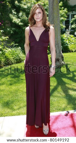 BEVERLY HILLS - JUN 14: Summer Altice at Reality Cares presents 'The Dogs Next Door', a Hollywood Celebrity Benefit at a private estate in Beverly Hills, California on June 14, 2008 - stock photo