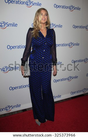 BEVERLY HILLS - OCT 2: Kate Upton at the Operation Smile's 2015 Smile Gala  on October 2, 2015 at the Beverly Wilshire Four Seasons Hotel in Beverly Hills, CA. - stock photo