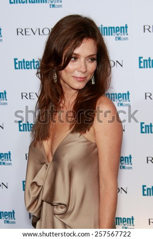 BEVERLY HILLS - SEP 20: Anna Friel at the 6th Annual Entertainment Weekly Pre-EMMY party  on September 20, 2008 in Beverly Hills, California - stock photo