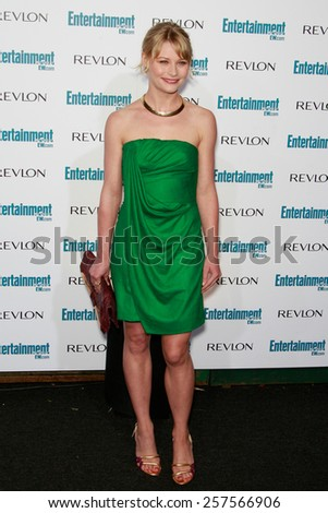 BEVERLY HILLS - SEP 20: Emilie de Ravin at the 6th Annual Entertainment Weekly Pre-EMMY party  on September 20, 2008 in Beverly Hills, California - stock photo