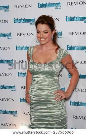 BEVERLY HILLS - SEP 20: Erica Durance at the 6th Annual Entertainment Weekly Pre-EMMY party  on September 20, 2008 in Beverly Hills, California - stock photo