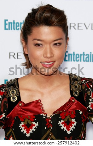 BEVERLY HILLS - SEP 20: Grace Park at the 6th Annual Entertainment Weekly Pre-EMMY party  on September 20, 2008 in Beverly Hills, California - stock photo