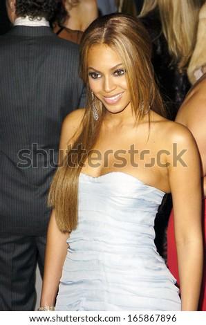 Beyonce Knowles at Vanity Fair Oscar Party, Morton's Restaurant, Los Angeles, CA, Sunday, February 27, 2005 - stock photo