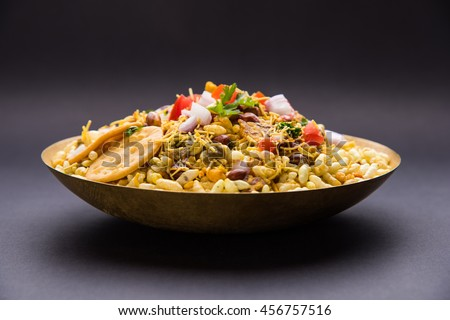 bhel puri, Indian chat item