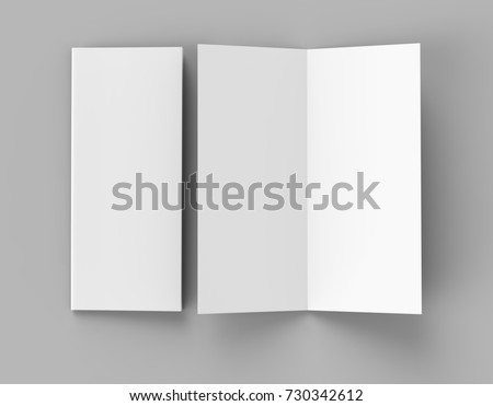 bi fold vertical half fold brochure stock illustration 730342612