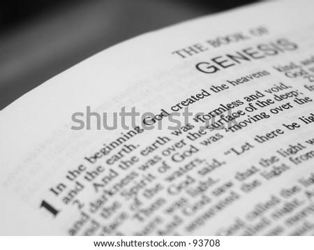 Bible Passage - stock photo