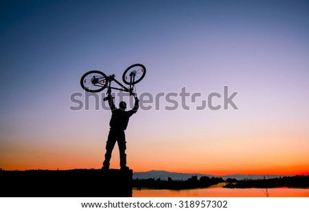 bicycle and passion for victory