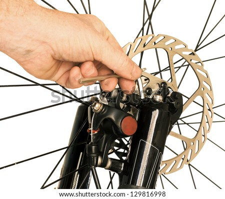 Bicycle Maintenance- Repairing the Disc Brakes on a Mountain Bike