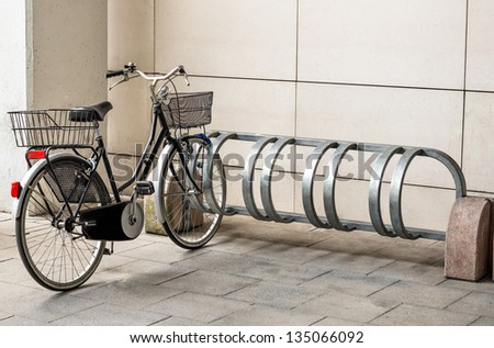 Bicycle ready for Use - stock photo