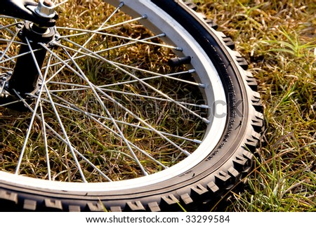 Bicycle Tire - stock photo