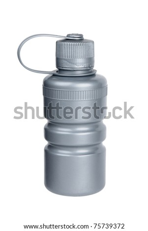 bicycle water bottle - stock photo