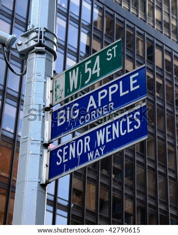 Big Apple corner, New York.