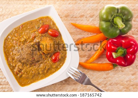 Big beef Curry. - stock photo
