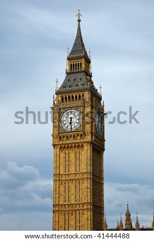 Big Ben in London at evening, UK