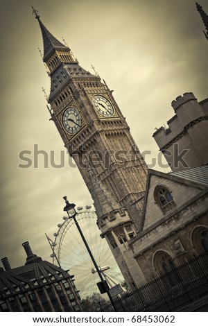 Big Ben, London - stock photo