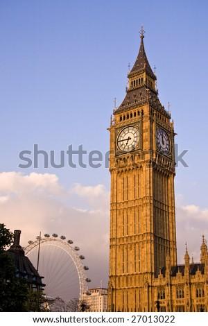 Big Ben, London UK - stock photo