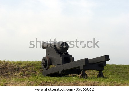 Big black cannon