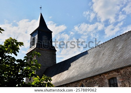 big cathedral in europe - stock photo