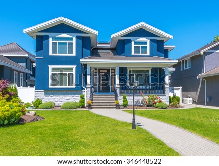 Luxury House Exterior house exterior stock images, royalty-free images & vectors