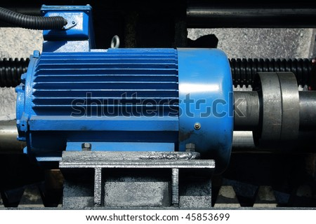 Industrial electric motor stock images royalty free for Industrial electric motor repair