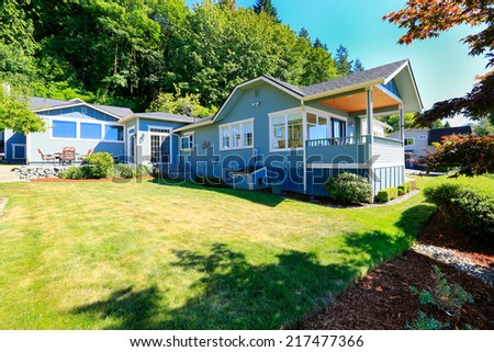 Big extended house in Port Orchard town, WA