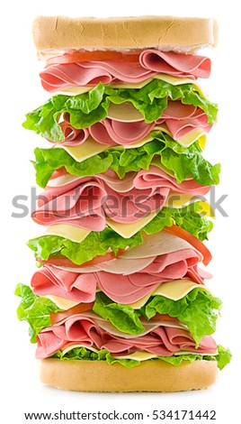 Tall Sandwich Stock Images Royalty Free Images Amp Vectors