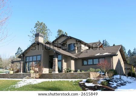 Big House - stock photo