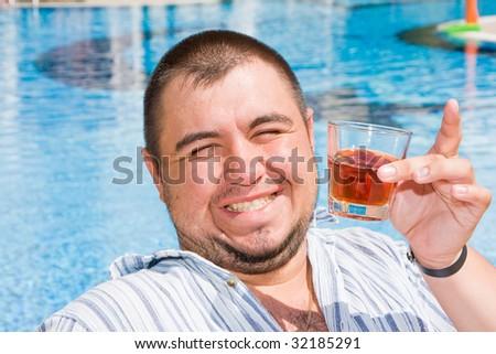 Big man - stock photo