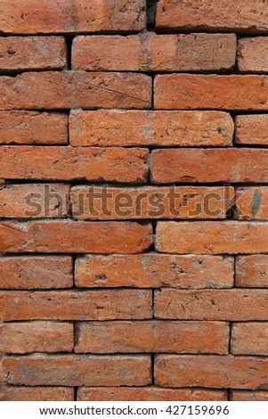 Big Old brick wall texture 2 - stock photo