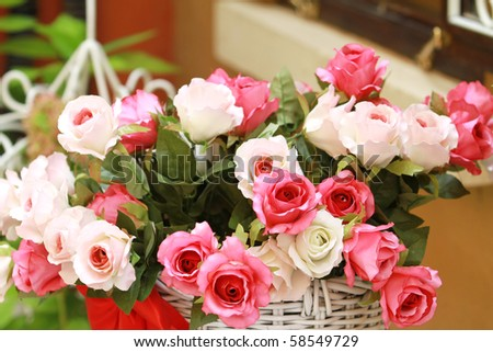 Big Pink Roses Bouquet