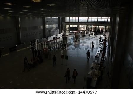 big reception - stock photo