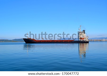 big ship  - stock photo